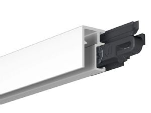 MINI Picture Hanging Rail (White, 200cm) inc fittings